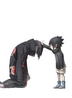 Sasuke and Itachi so adorable Sasuke Uchiha, Anime Naruto, Menma Uzumaki, Naruto Cute, Naruto Shippuden Anime, Naruto Funny, Sasuke Akatsuki, Naruhina, Wallpaper Naruto Shippuden