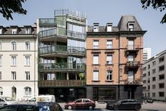 HHF /// LICHTSTRASSE Apartments building @ Basel, Suisse
