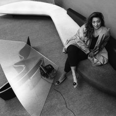 "Zaha+Hadid+was+""a+combination+of+beauty+and+strength""+says+Rem+Koolhaas"