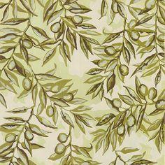 CREAMENTE - Aquarelle + gouache #handmade #art #textile #pattern #print #artist #aquarelle #gouache #olive #textileart