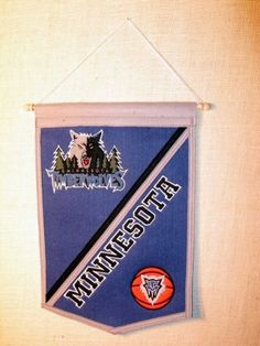 3b96b2770b3 Minnesota Timberwolves NBA Basketball Traditions Banner   Continue to the  product at the image link.