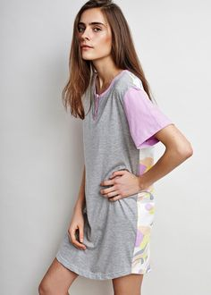 ALAS Terraform Lounge Dress  - 100% organic cotton