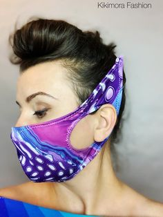 Discover recipes, home ideas, style inspiration and other ideas to try. Diy Mask, Diy Face Mask, Face Masks, Nara, Sewing Hacks, Sewing Projects, Elf Face, Fashion Face Mask, Mouth Mask