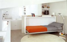 Image result for single bed that folds into wall