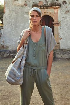 Drawstring Jumpsuit - anthropologie.com
