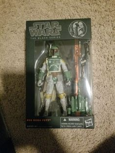 TV Movie and Video Games 75708: Star Wars Boba Fett #06 Black Series 2013 Wave 2 6 Action Figure Authentic -> BUY IT NOW ONLY: $40 on eBay!