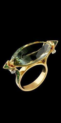 Rosamaria G Frangini | MY Green Jewellery |Master Exclusive Jewellery… by lara