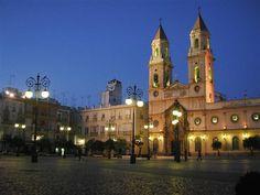 Plaza de San Antonio. Cadiz, Spain