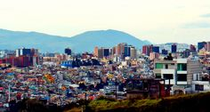 View from Quito from Parque Cuscungo