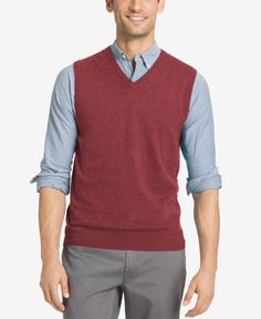 Izod Men's Campus Sweater Vest