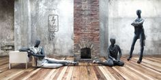 is someone going to start this fireplace?, pinned by Ton van der Veer