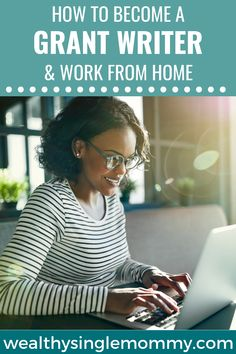 How to become a work-from-home grant writer : A career in grant writing could be for you. You may be able to work part-time without quitting other work you love, or even work in a freelance role. Grant Proposal Writing, Grant Writing, Writing Jobs, How To Make Money, How To Become, Nonprofit Fundraising, Part Time Jobs, Family Game Night, Work From Home Jobs