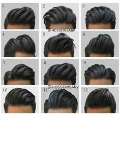 & to your photos to be featured +✂ Hairstyle for dark hair. Mens Hairstyles 2018, Undercut Hairstyles, Haircuts For Men, Hot Hair Styles, Hair And Beard Styles, Curly Hair Styles, Two Block Haircut, Gents Hair Style, Hair 2018