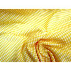 Mini Check Jersey- Sunshine