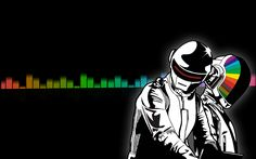 Música Daft Punk  Papel de Parede