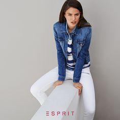 Esprit <3 white #jeans