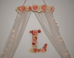 Nursery Canopy-Crib Canopy-Crown Baby Canopy-Baby Crib Mobile-Bed Canopy-Canopy With Lights-Nursery Decorations-Newborn Photo Props-Canopies Baby Bed Canopy, Girls Canopy, Girls Bedroom, Bedroom Ideas, Nursery Crib, Girl Nursery, Nursery Decor, Girl Cribs, Baby Cribs