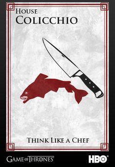 Tom Colicchio's Sigil #gameofthrones #food #jointherealm