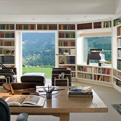 Stunning Home Libraries: Architectural Digest
