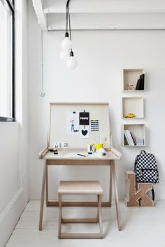 Marzua: K desk, un escritorio práctico y divertido para los peques de la casa de Rafa Kids