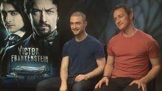 Victor Frankenstein: Daniel Radcliffe wanted to bathe in James McAvoy's ...