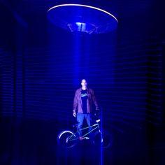 "Beam me up - Single exposure Light Art Photography with LED LENSER X21R.2, M7RX and blue laser.  Thanks: - The best BMX freestyle rider Camilo Gutierrez - Mafu Fuma (Aurora Movement) - Erik (Trigger and UFO-Light)  <a href=""http://www.lichtkunstfoto.de"">www.lichtkunstfoto.de</a>  <a href=""https://www.facebook.com/Lichtkunstfoto"">www.facebook.com/Lichtkunstfoto</a>"