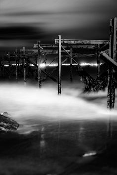 Bnw longexposure taken on Giske island Norway. Black and white longexposure. Long Exposure, Black And White Photography, Marina Bay Sands, Island, Building, Norway Travel, Pictures, Night, Black White Photography