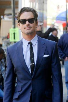 suit, tie & sunglasses - including a hot dude