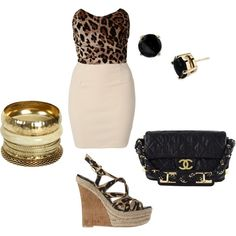 wild side, created by bmarsha11 on Polyvore