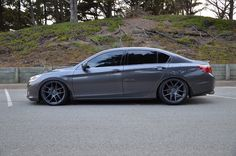 Customer's Accord on Velgen Wheels was submitted to us last week. Our Dual Concave fitment fits perfectly on the Honda Accord gen. The Accord 2013 Accord, 2014 Honda Accord Sport, Honda Accord Coupe, Honda Cars, Chevrolet Chevelle, Car Wheels, Jdm Cars, My Ride, Outdoor Travel