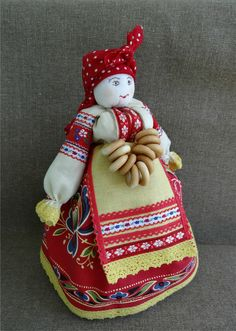 Christmas Crafts For Kids, Christmas Ornaments, Tea Cozy, Diy Doll, Doll Clothes, Dolls, Holiday Decor, Russia, Pattern
