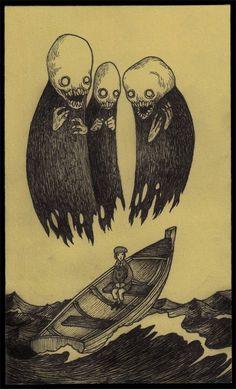 Art, evil, dark