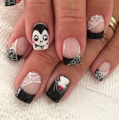 online+nail+art+magazine | 27 Halloween Nail Art IdeasHeadstyle – Online Beauty Magazine