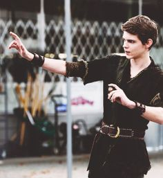 Robbie Kay as Peter Pan in Once Upon A Time