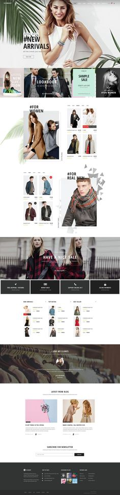 Modern Ecommerce Website Themes #ECOMMERCE #DESIGN