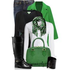 Untitled #2640 by mzmamie on Polyvore featuring NIC+ZOE, Witchery, R13, Tory Burch, Marc by Marc Jacobs and Louis Vuitton