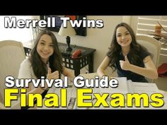 Final Exams Survival Guide - Merrell Twins - YouTube