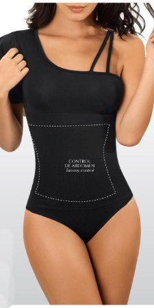 2b172b348185 $51.95 This trendy leotard body shaper helps to control the abdomen and  shape the waist into