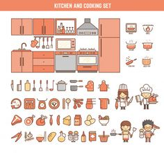 Kitchen Cooking Infographic Elements Kid Including Stock Vector (Royalty Free) 276976148 kitchen and cooking infographic elements for kid including characters and icons Grilled Roast, Journal Stickers, Royalty Free Stock Photos, Cooking, Illustration, Kitchen, Kids, Characters, Vector Freepik