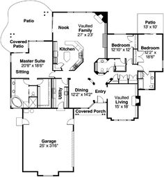 36x36 Square House Floor Plans Popular House Plans And