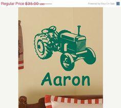 15 SALE 2 days ONLY BIG Green Farm Tractor Boys by TheBabyDolls