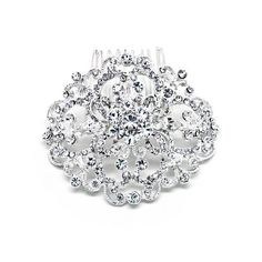 Bridal Side Comb Vintage Pave Crystal Oval Victorian Wedding Hair Accessories Sparkly Bride,To buy just click on amazon under Pinterest Pin http://www.amazon.com/gp/product/B005234934?ie=UTF8=213733=393185=B005234934=shr=abacusonlines-20&=jewelry=1366249095=1-12=hair+accessories
