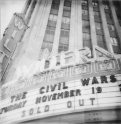 The Civil Wars ~ Sold Out