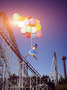 Germany's next Topmodel 2014 Originale Balloon Shooting - Folge 3