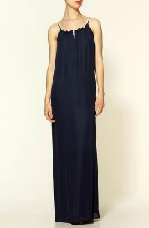 I love this silk maxi and the other five maxi dresses in this article. #summer