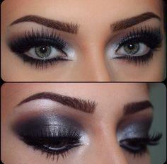 Flawless eye shadow