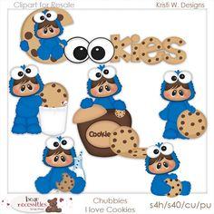 I Love cookies  www.bearnecessitiesscraps.com