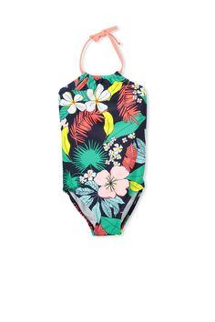 226676cd8855c emma halter one piece Floral Tie, Children's Swimwear, One Piece, Boys,  Accessories