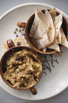 Hummus de Berenjena con especias