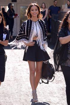 efbfc1ed06a1b7 Jamie Chung-Mercedes-Benz Fashion Week Spring 2015 – Celebrity Sightings Jamie  Chung